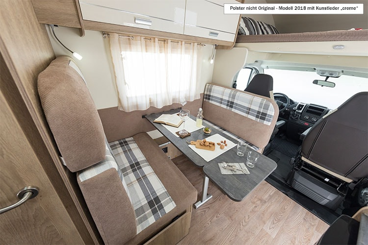 Bela easy guadeloupe alkoven wohnmobil unter 6 meter for Wohnmobil aussendesign